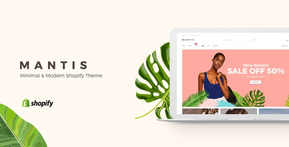 Mantis - Minimal & Modern Shopify Theme - Shopify eCommerce