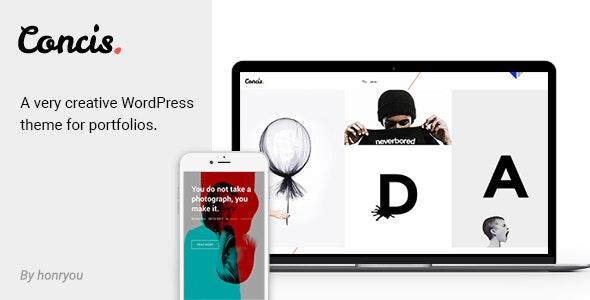 Concis - Creative Portfolio Theme - Portfolio Creative