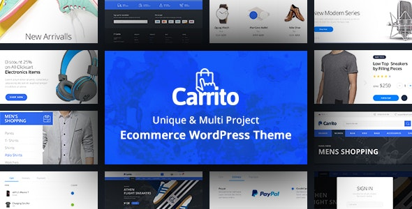 Carrito - WooCommerce WordPress Theme - WooCommerce eCommerce