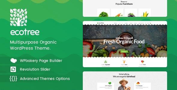 Ecotree - Organic Food WordPress Theme - WooCommerce eCommerce