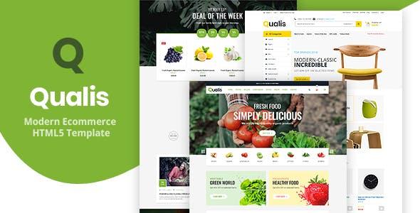Qualis - Responsive Ecommerce HTML5 Template