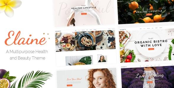Elaine - Modern Beauty Theme - Health & Beauty Retail