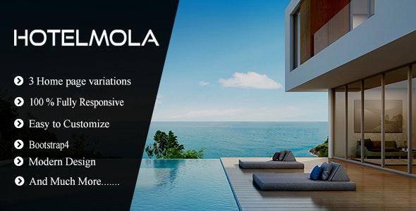Hotelmola - Hotel and Resort Responsive HTML5 Template - Travel Retail