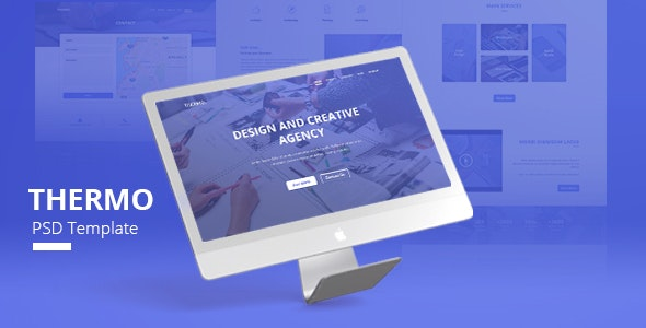 Thermo - PSD Template - Creative Photoshop