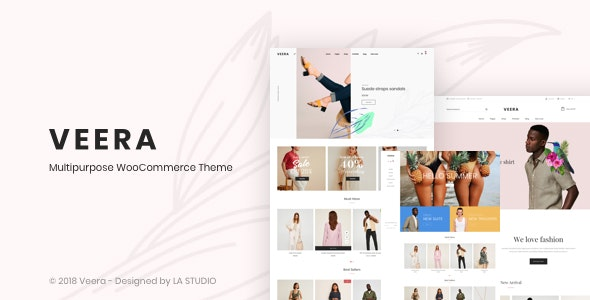 Veera – Multipurpose WooCommerce Theme - WooCommerce eCommerce