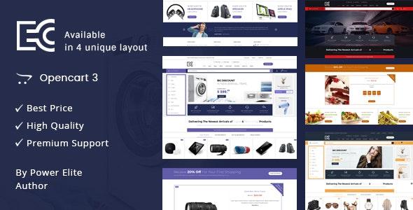 eCode - Multipurpose OpenCart 3 Theme - Shopping OpenCart