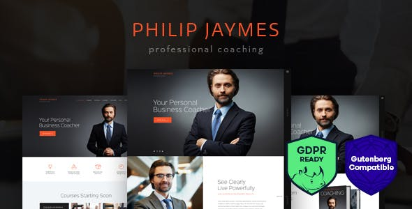 PJ | Life & Business Coaching WordPress Theme