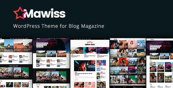 Mawiss - WordPress Blog Magazine Theme