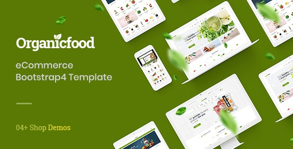 OrganicFood - Organic Food Shop HTML Template - Food Retail