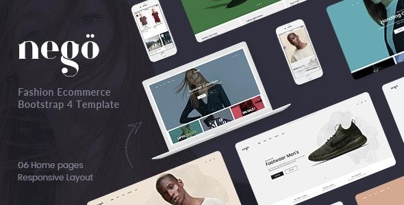 Nego - Minimal Fashion Store HTML Template - Fashion Retail
