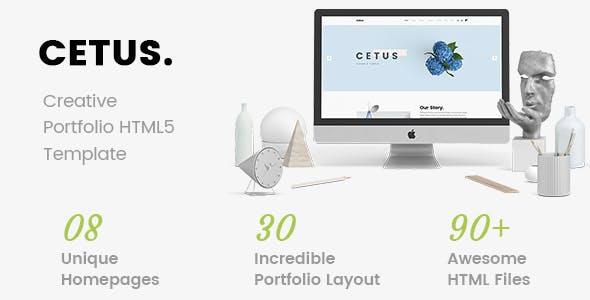 CETUS - Creative Portfolio HTML5 Template