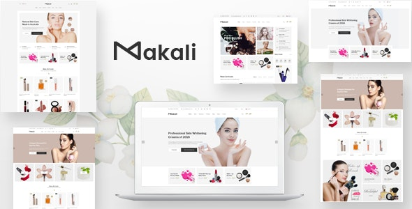 Makali - PSD Template - Health & Beauty Retail