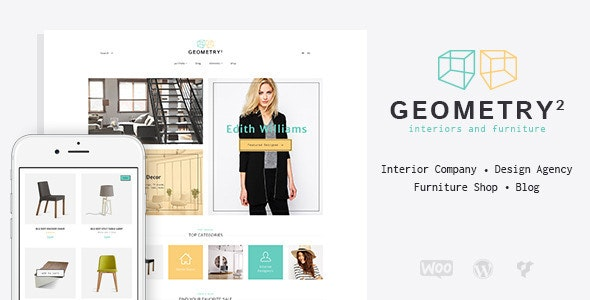 Geometry | Interior Design & Furniture Shop WordPress Theme - Business Corporate