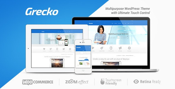 Grecko | A Clean Multipurpose WordPress Theme - Corporate WordPress