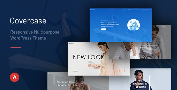 Covercase — Responsive Multipurpose WordPress Theme - Creative WordPress