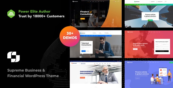 Businext - Business and Financial Institution WordPress Theme - Business Corporate