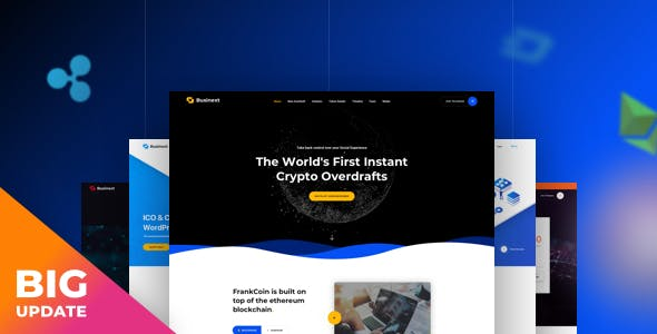 Businext - Business and Financial Institution WordPress Theme