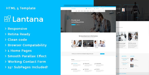 Lantana - Business Consulting and Professional Services HTML Template - Business Corporate