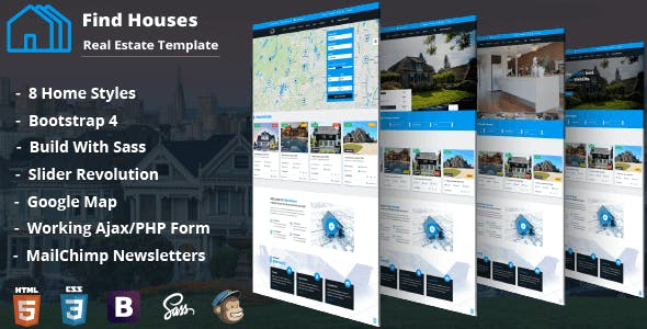 Add Property Templates from ThemeForest