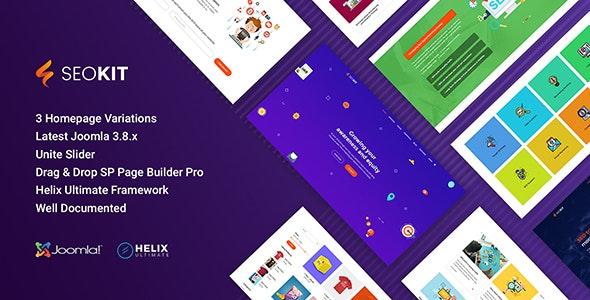 Seokit - SEO and SEM Joomla Template - Marketing Corporate