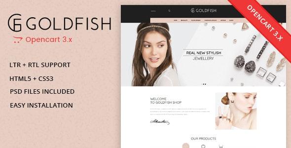 Goldfish - Jewellery Responsive Opencart 3.0.x Theme - Fashion OpenCart