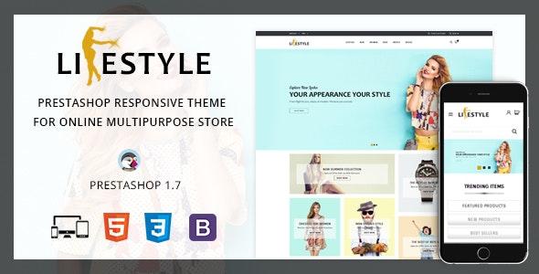 LifeStyle - Prestashop 1.7 Theme - Shopping PrestaShop