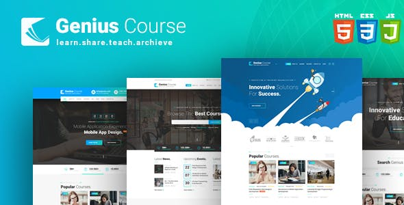 E Learning And Lms Html Website Templates From Themeforest