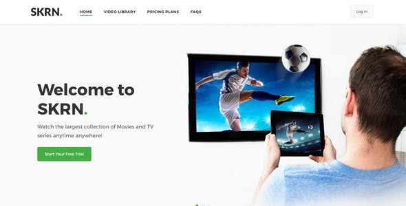 TV Templates from ThemeForest