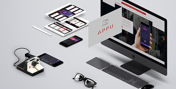 Appu - App Landing Page - Landing Pages Marketing