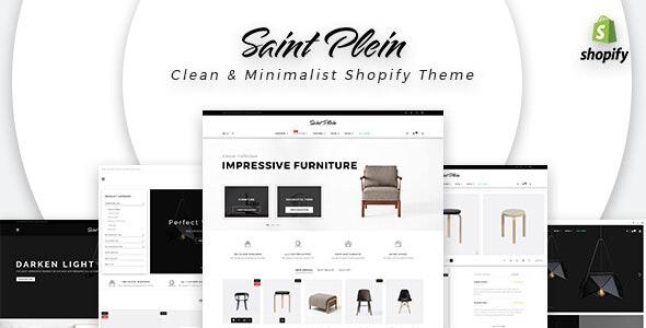 Saint Plein - Mutilpurpose eCommerce Shopify Theme - Fashion Shopify
