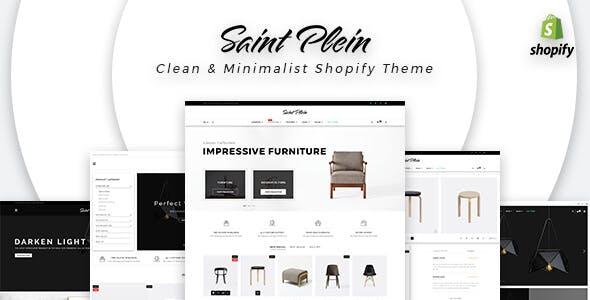 Saint Plein - Mutilpurpose eCommerce Shopify Theme