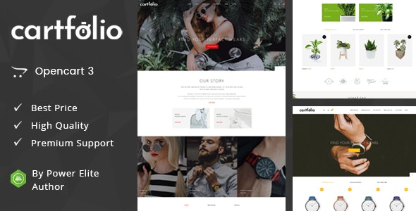 Cartfolio - Multipurpose OpenCart 3 Theme - Fashion OpenCart