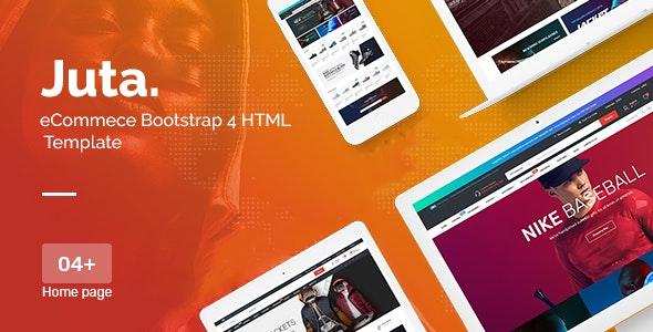 Juta eCommerce Bootstrap 4 HTML Template