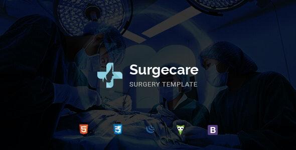 Surgecare - Surgery HTML Template - Health & Beauty Retail