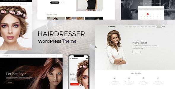 Hairdresser - Hair Salon WordPress theme - Health & Beauty Retail