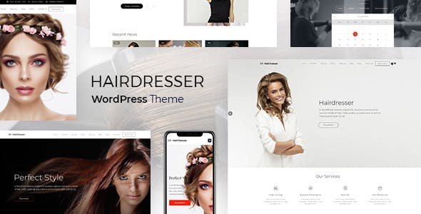 Hairdresser - Hair Salon WordPress theme