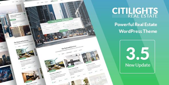 CitiLights - Real Estate WordPress Theme - Real Estate WordPress