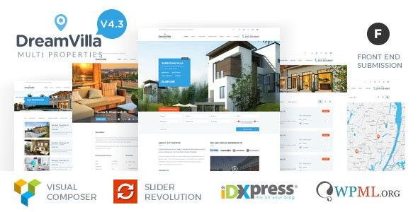 DreamVilla - Real Estate WordPress Theme - Real Estate WordPress