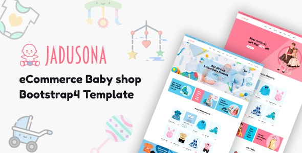Jadusona - Baby Shop HTML Template - Children Retail