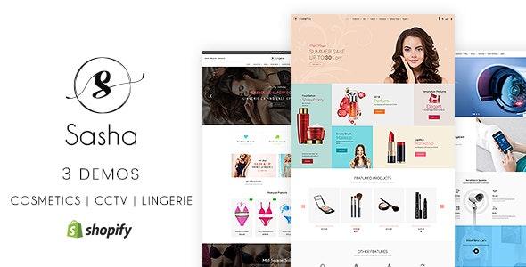Sasha - CCTV, Bikini, Cosmetic Shopify Store - Miscellaneous Shopify