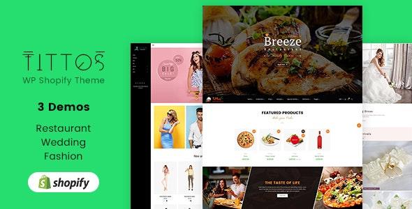 Tittos | Multipurpose Shopify Theme - Shopify eCommerce