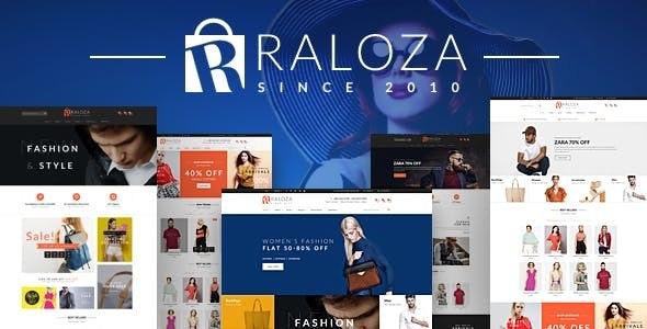 Raloza - Fashion eCommerce HTML Template - Fashion Retail