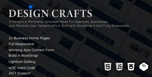 Designcrafts - Corporate Business Template - Corporate Site Templates