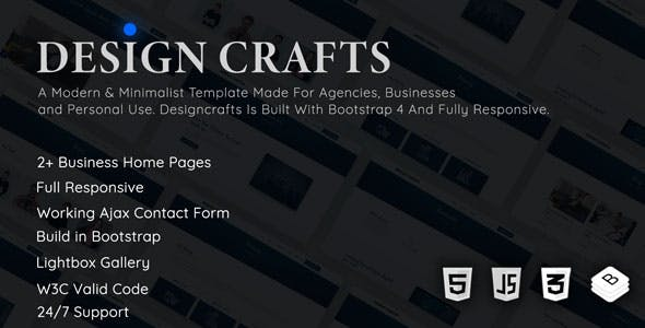 Designcrafts - Corporate Business Template