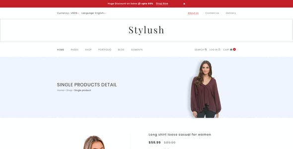 Stylush-ecommerce PSD Template