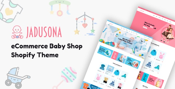 Baby Shop Shopify Theme - Jadusona - Shopping Shopify
