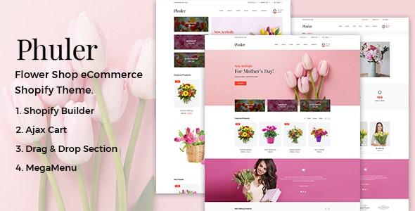 Phuler Flower Shop Shopify Theme