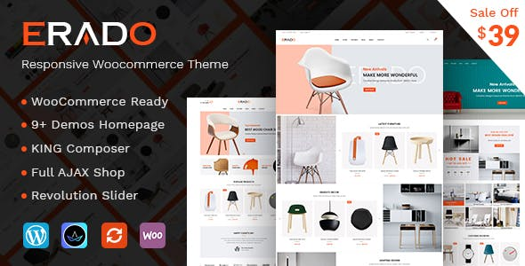 Erado - eCommerce WordPress Theme
