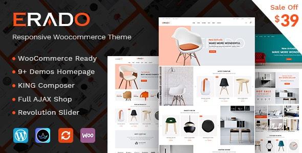 Erado - eCommerce WordPress Theme - WooCommerce eCommerce