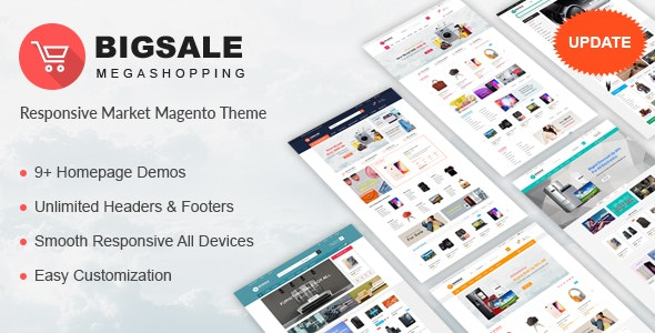 Bigsale - Responsive Magento 2 Theme - Magento eCommerce